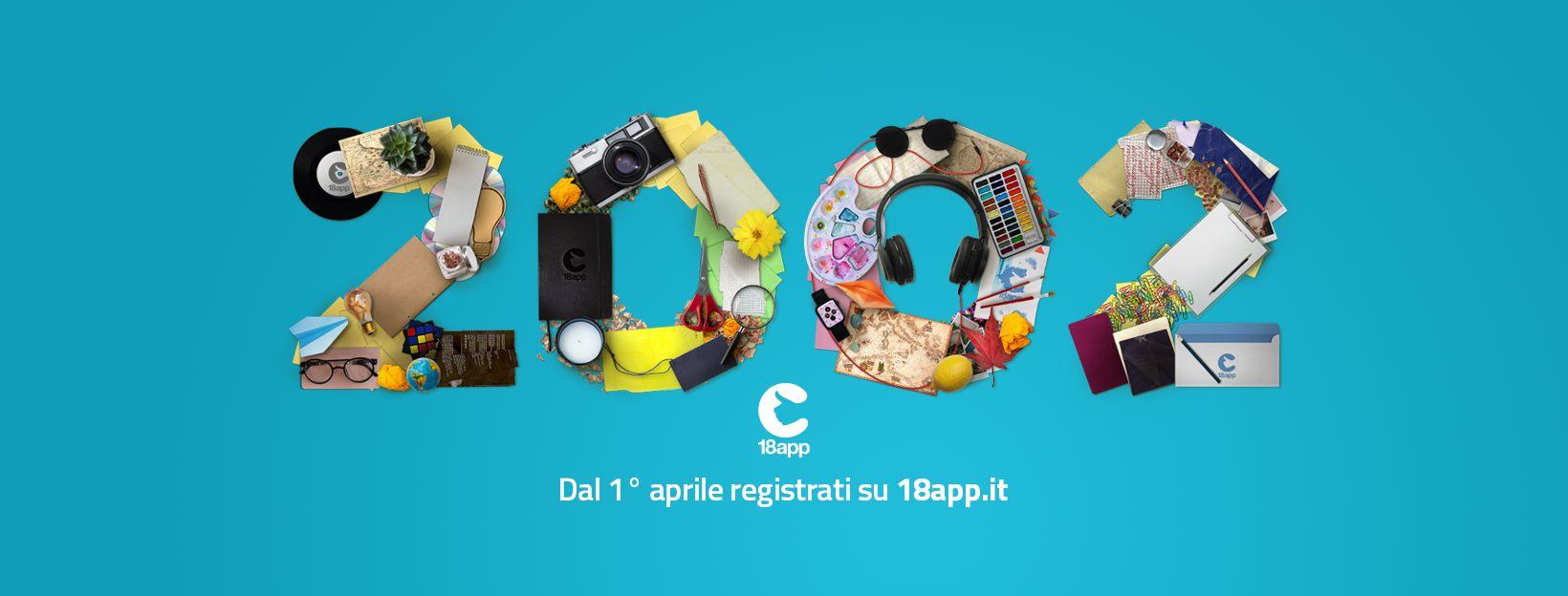 Bonus Cultura di 500 euro per giovani nati nel 2002!
