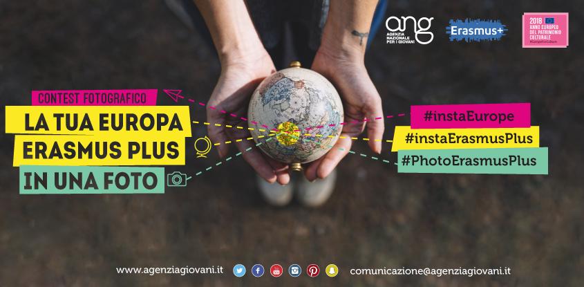#InstaErasmusPlus: contest fotografico!