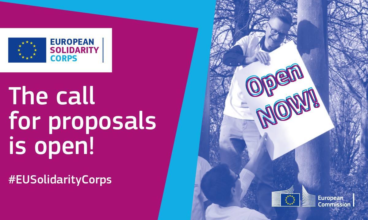 Corpo europeo di Solidarietà - Guida 2019
