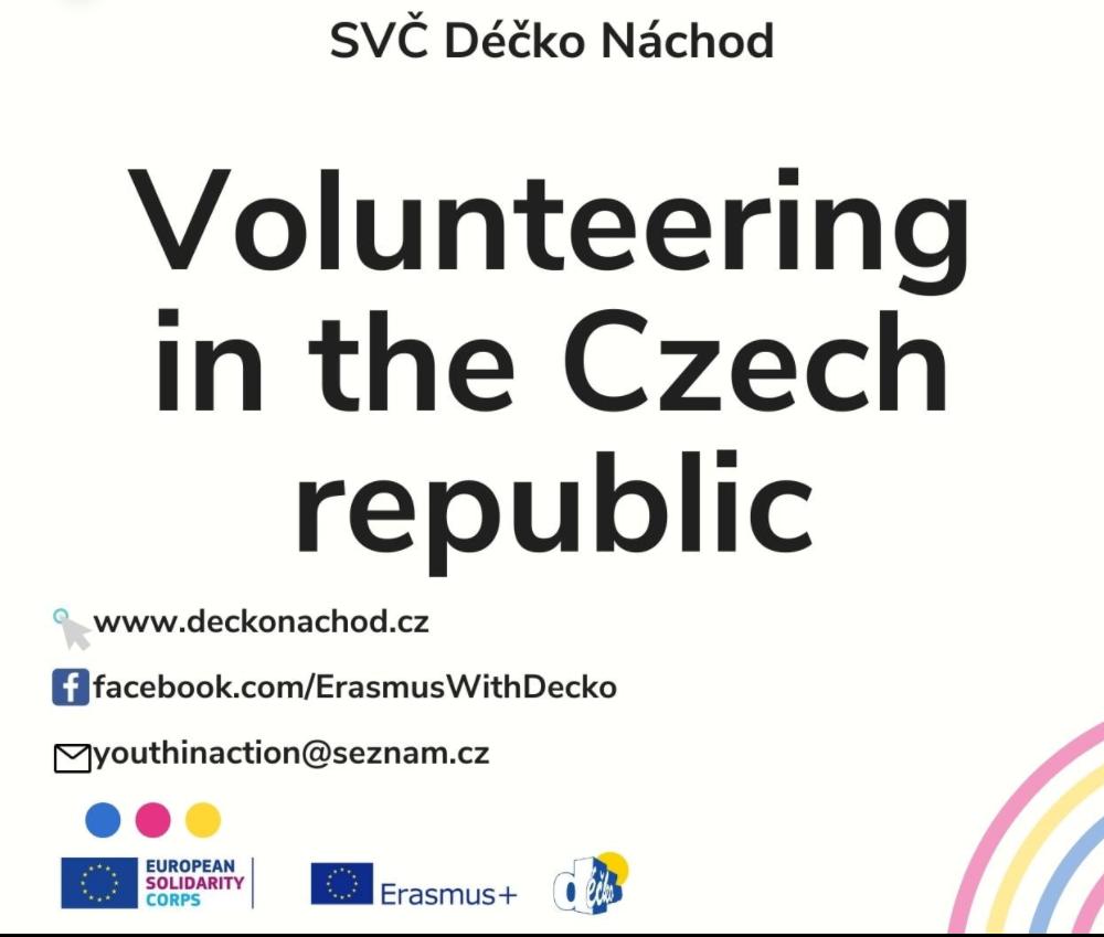 11 mesi nella Rep. Ceca: attività in centri ricreativi, scuole e asili