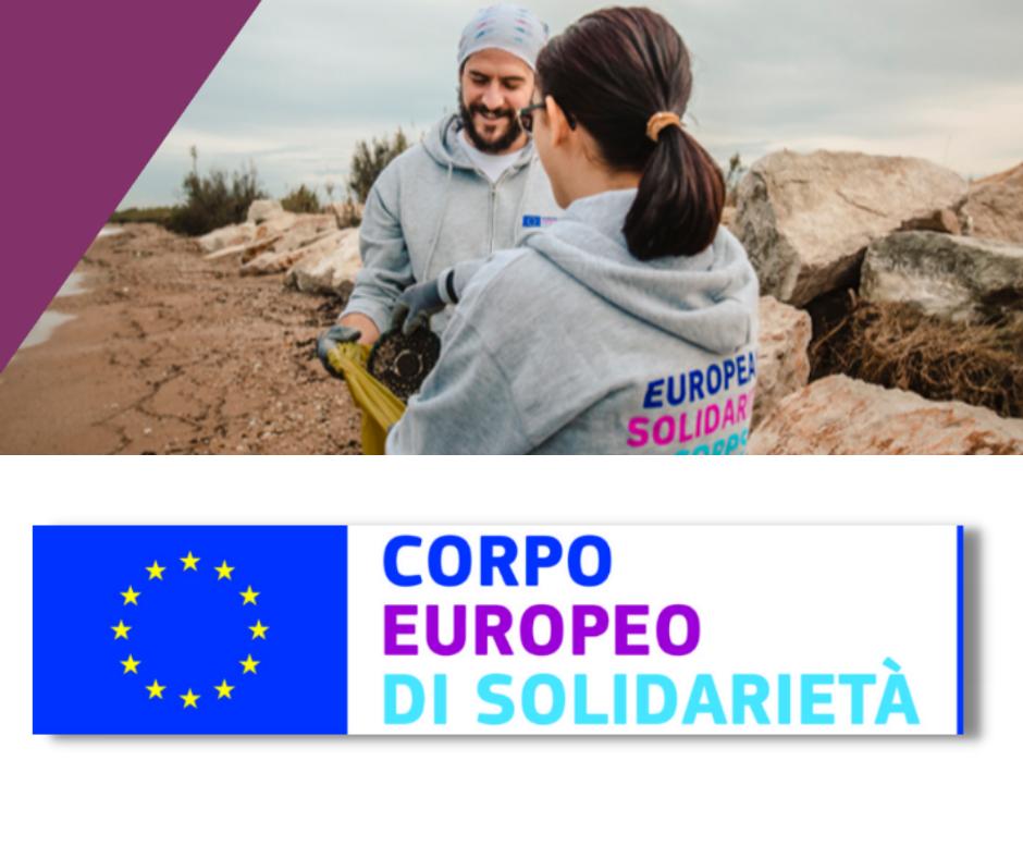 Corpo europeo di solidarietà: volontariato per giovani 18 - 30 anni