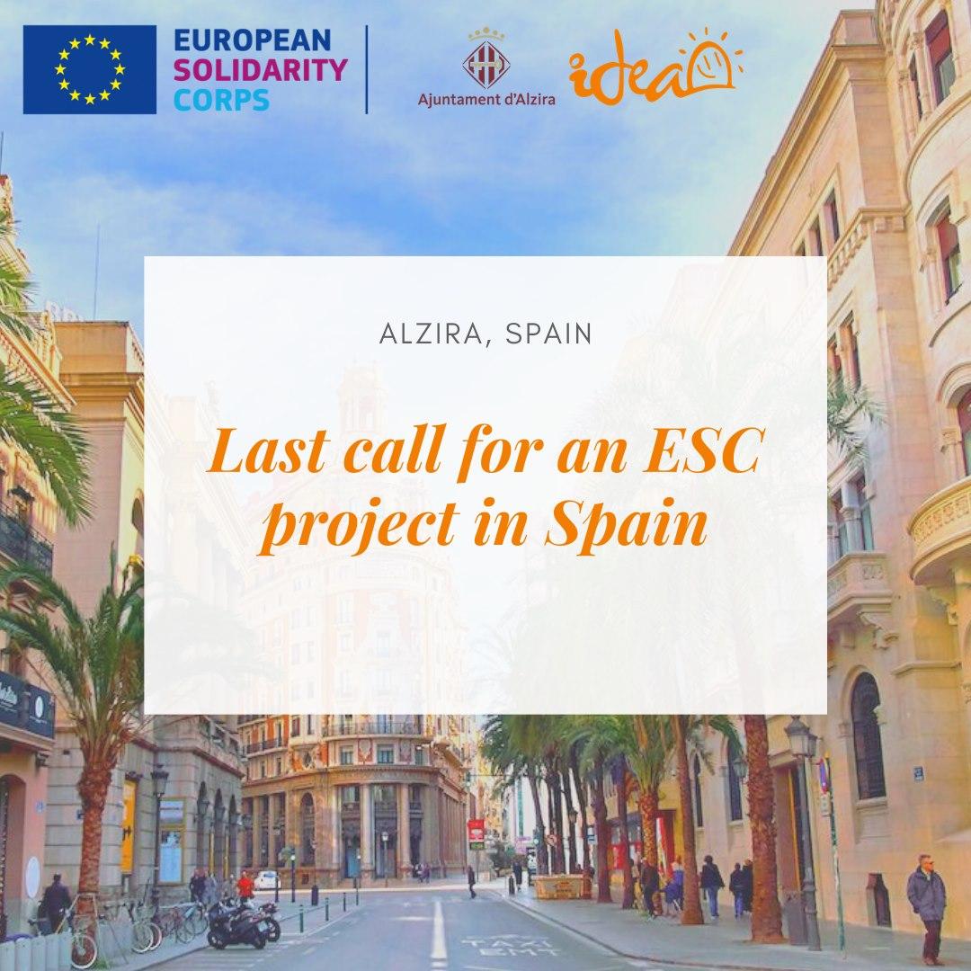 Last call: tre opportunità ESC in Spagna su educazione e patrimonio culturale