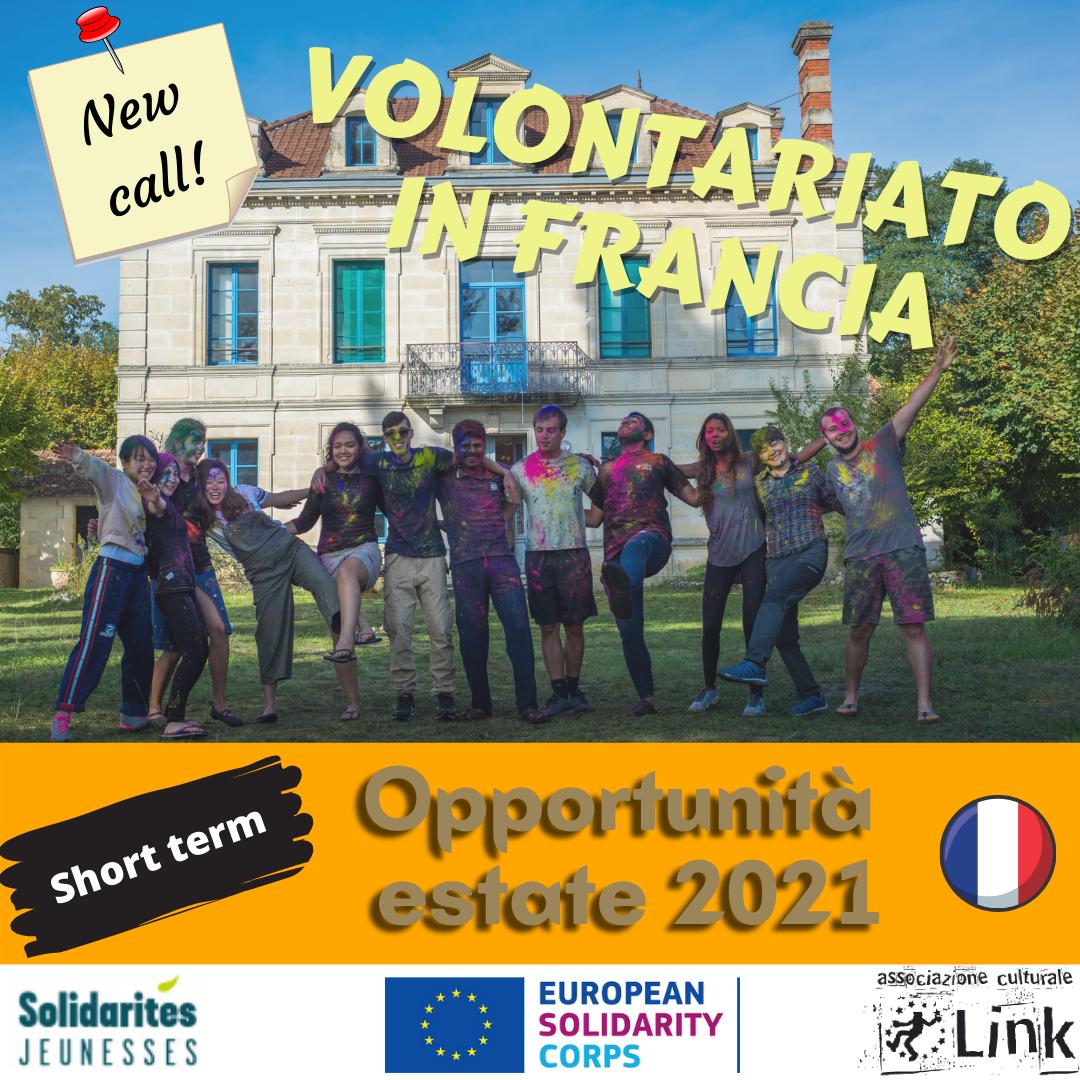 ESC team breve in Francia con Solidarités Jeunesses