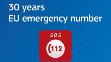 """""""112"""": il numero unico di emergenza dell'UE compie 30 anni"""