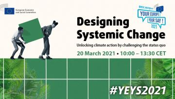 20 marzo: Designing Systemic Change #YEYS2021