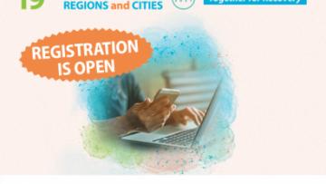 11-15 ottobre: Settimana europea delle regioni e delle città 2021