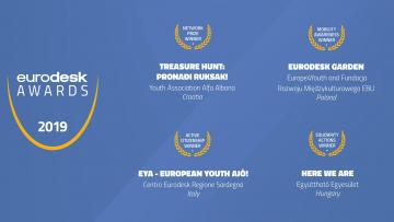 European Eurodesk Awards 2019: cerimonia di