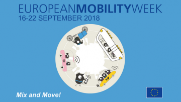 16-22 settembre: Settimana europea della mobilità