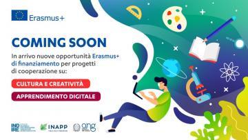 Digitale, creatività e cultura: in arrivo nuove opportunità Erasmus+ per progetti di cooperazione