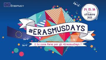 14-15-16 ottobre: #Erasmusdays!