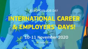 10-11 novembre: International Career & Employers' Day!