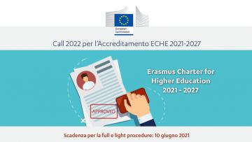 Accreditamento ECHE 2021-2027 – Call 2022