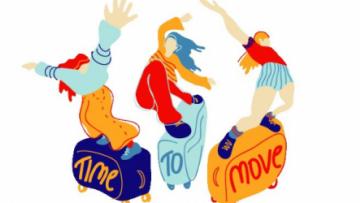 Time To Move 2020: campagna  della rete Eurodesk!