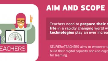 SELFIEforTEACHERS: supporto agli insegnanti nelle tecnologie digitali