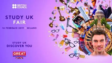 16 febbraio: Study UK Fair
