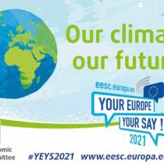 """""""Our climate, our future!"""": vertice dei giovani"""