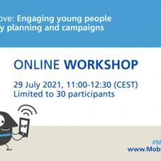 29 luglio: workshop Youth on the Move!