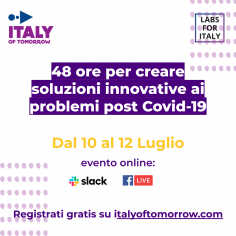 Italy Of Tomorrow: piattaforma digitale per