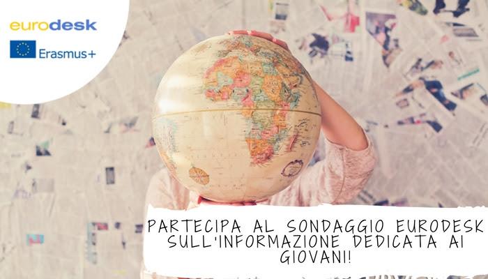 Sondaggio Eurodesk sui servizi di informazione per i giovani