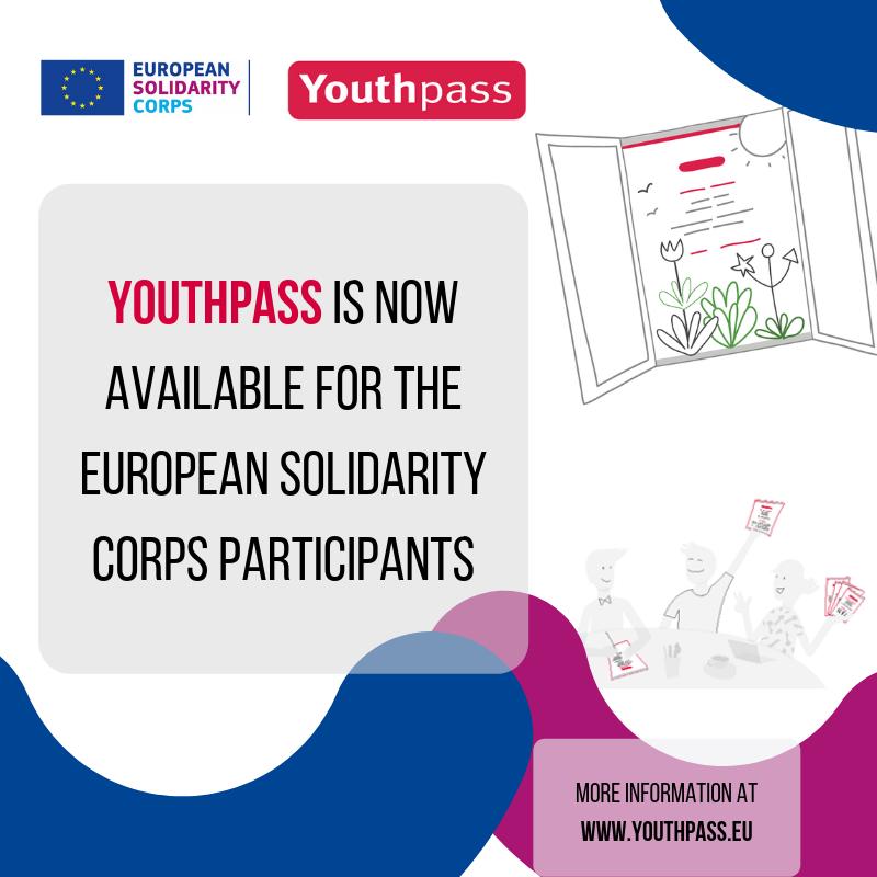 Youthpass è disponibile per i partecipanti a progetti di Corpo europeo di Solidarietà